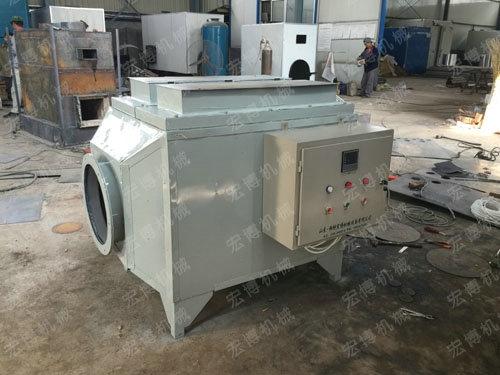 龙口电加热炉制作现场